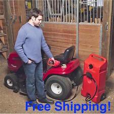 Fuel Transfer Pump Rolling Gas Can Gasoline Diesel Kerosene Portable Extractor