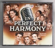 (GZ22) In Perfect Harmony, The Ink Spots/Andrews Sisters/Mills Brothers - 3 CDs
