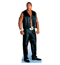 THE ROCK WWE Wrestling Dwayne Johnson CARDBOARD CUTOUT Standup Standee Poster