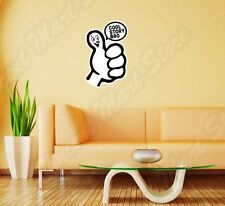 """Cool Story Bro Funny Internet Chat Wall Sticker Room Interior Decor 18""""X25"""""""