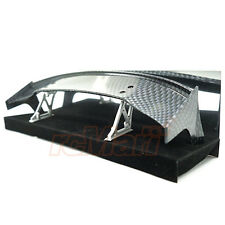 Slidelogy Shiny Carbon Pattern Spoiler Black Stands Type M 1:10 RC Car #SDY-0065