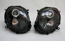 SCHEINWERFER LED ANGEL EYES STANDLICHTRINGE BMW MINI COOPER R55 R56 R57 SCHWARZ