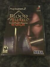 Blood Will Tell PlayStation PS2 Dororo 2004 New Sealed Ultra Rare Sega Action