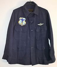 Original Vietnam War US Air Force 4157th Strategic Wing A-1A Heavy Flying Shirt