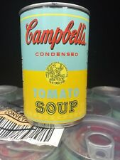 ANDY WARHOL Tomato Soup CAMPBELL'S Can x32 LIMITED EDITION  50 Yrs Of Soup Blue