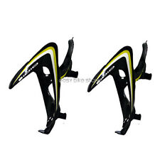 2PCS BLACK * YELLOW + WHITE  IDIO UD Carbon Water Bottle Cage BIKE MTB ROAD