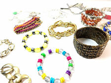WHOLESALE JOB LOT x 500 ASSORTED BANGLES/ BRACELETS STUNNING UNIQUE PIECES