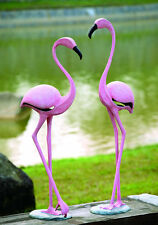 Pink Flamingo Garden Statue/Sculpture Pair by SPI Home/San Pacific Int'l 33349