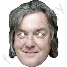 James May Top Gear Celebrity Card Mask - All Our Masks Are Pre-Cut!