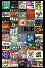 "THE BEATLES POSTER ""SINGLES"" LICENSED ""BRAND NEW""  LARGE SIZE 61cm X 91.5cm"