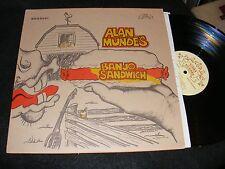 Banjo SANDWICH Fun Cartoon Cover 75 1st Ridge Runner Bluegrass Lp ALAN MUNDE