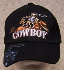 Embroidered Baseball Cap Rodeo Cowboy  NEW 1 hat size fits all