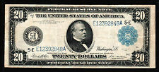 1914 $20 Large Size Federal Reserve Note Richmond