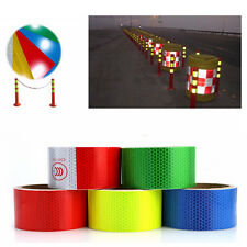 """New 2""""X10' 3M Reflective Safety Warning Conspicuity Tape Film Sticker"""