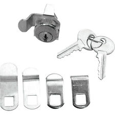Prime-Line Mailbox Lock Assortment Florence Steel and Brass Nickle Plated S4140