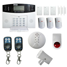 GSM SMS Wireless Voice Remote Control Home House Alarm Security System Autodial