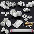 45tlg. Ausstecher Ausstechform Backen Modellierwerkzeug Glätter Fondant Kit Set