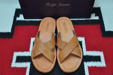 Ralph Lauren PURPLE LABEL Alligator Leather Sandals 9.5 D