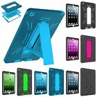 Protective Hybrid Shockproof Hard Case Cover Stand for Apple iPad 2 3 4 Mini Air