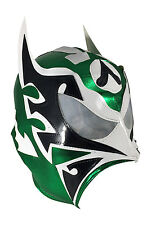 ULTIMO GUERRERO (pro-LYCRA) Adult Wrestling Halloween Mask Lucha Libre - Green