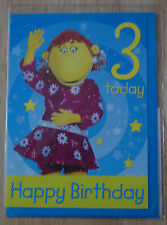 The Tweenies Fizz 3rd Birthday Card for Boys/Girls - BNIP
