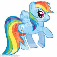"28"" Magic Pink RAINBOW DASH My Little Pony Birthday Foil Supershape Balloon"