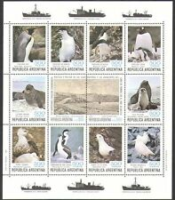 Argentina 1980 Penguins/Birds/Seal/Antarctic/Animals/Nature/Wildlife sht n37810