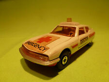 MATCHBOX  1:43 CITROEN SM  - DOCTOR EMERGENCY   -  IN VERY  GOOD CONDITION