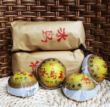 2012 year Wholesale Yunnan Pu'er tea raw puer tea 100g Iceland Wang sheng puerh