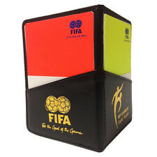 Referee Cards Red/Yellow Football Sport Wallet Notebook Pencil Soccer Game Tool