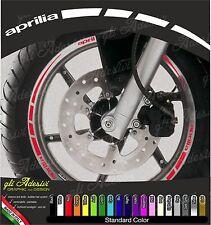 Kit Adesivi Cerchi Moto Ruote APRILIA ruote 17 pollici
