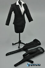 ZY TOYS 1/6 Scale Female Suits Set Costume Clothes FOR 1:6 TH  Women Figure Body