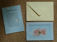 *BABY BOY CHRISTENING DAY GIFT* / PRESENT  LUCKY SIXPENCE & CHRISTENING POEM