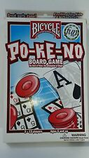 Po-Ke-No Board Game Bicycle Ages 6 and up 2-14 Players New