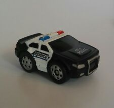 XConcepts NANO SPEED POWERED CAR CITY POLICE 911 PULL BACK ACTION!