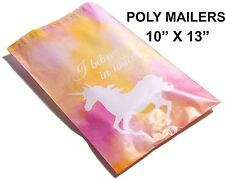 (35) 10 X 13 Watercolor Unicorn Designer Mailers Poly Shipping Boutique