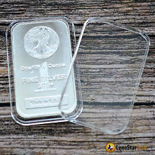 25 Air-Tite Direct Fit Coin Holder Capsule for 1 oz Silver Bar