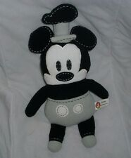 "13"" DISNEY POOK-A-LOOZ STEAMBOAT WILLIE MICKEY MOUSE STUFFED ANIMAL PLUSH TOY"