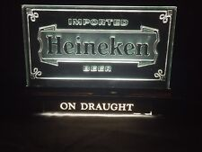 Vintage Heineken Bar Light Up Cash Register Sign New Open Box