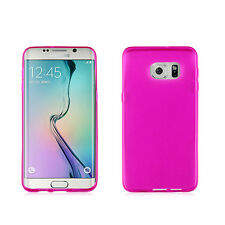 Samsung Galaxy S6 Edge+ Plus PHONE PINK 1-PC GEL SOFT TPU SKIN COVER CASE