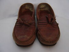 MEN'S SHOES GIORGIO BRUTINI  BROWN LEATHER LOAFER  BRAZIL SIZE 8 1/2 D WELL