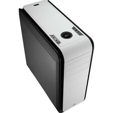Aerocool DS 200 Black/White Gaming Case Noise Dampening 2 x USB 3.0 7 Colour LCD
