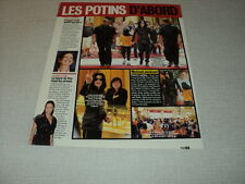 I232 MICHAEL JACKSON KEITH RICHARDS ANGELINA JOLIE '2007 FRENCH CLIPPING