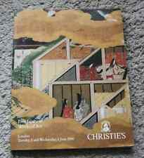 CATALOGUE VENTE 1990 CHRISTIE'S LONDON Fine Japanese Works of Art + résults