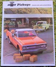 1969 Chevrolet Pickups 4-Wheel Drive Chassis-Cabs Sales Brochure 69 Chevy
