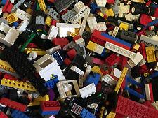 LEGO® 1 KG KILO STEINE PLATTEN SONDERTEILE RÄDER TÜREN FENSTER GEMISCHT+ 1 FIGUR