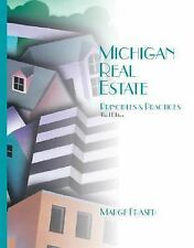 Michigan Real Estate : Principles and Practices by Marge A. Fraser (2001,...