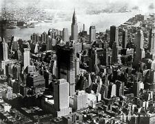 ROCKEFELLER CENTER UNDER CONSTRUCTION 1932 NEW YORK CITY 8X10 PHOTO