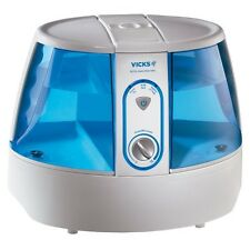 Vicks Germ Free Humidifier White and Blue