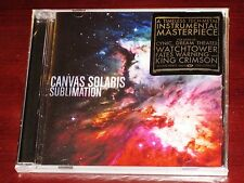Canvas Solaris: Sublimation CD ECD 2009 Live Video Tribunal Records TRB057 NEW